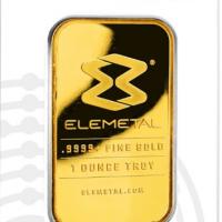 One Oz Gold Bar - Elemetal