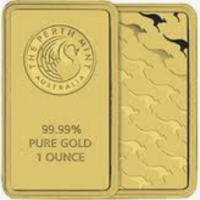 One Oz Gold Bar - Perth