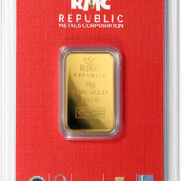 One Oz Gold Bar - RMC