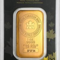 One Oz Gold Bar - Royal Canadian Mint