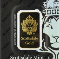 One Oz Gold Bar - Scottsdale