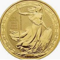 One Oz Gold Britannia
