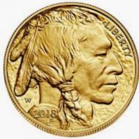One Oz Gold Buffalo