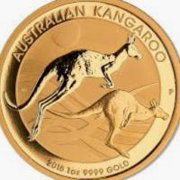 One Oz Gold Kangaroo