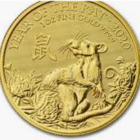 One Oz Gold Lunar