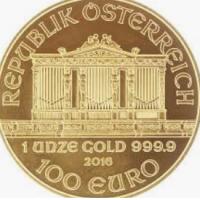 One Oz Gold Philharmonic